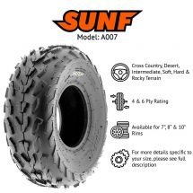 "20x7.00x8"" / 20x7x8 SUNF A-007 4 PLY TYRE ATV QUAD E-MARKED"